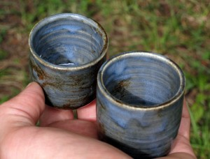 Little Blue Cups - September 2009